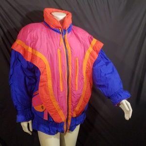 Vtg Gallery ski jacket coat unisex S